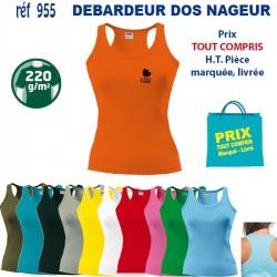 DEBARDEUR DOS NAGEUR REF 955 955 T SHIRTS COULEUR 5,08 €