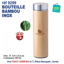 BOUTEILLE INOX BAMBOU REF 9299 9299 GOURDES GOBELETS 8,55 €