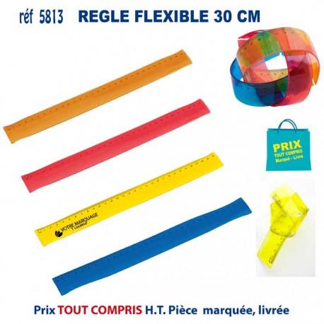 REGLE FLEXIBLE 30 CM REF 5813 5813 Règles publicitaires 0,67 €