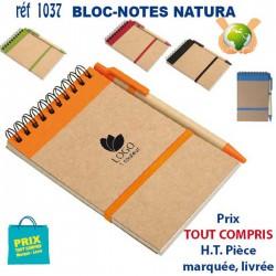 BLOC NOTES NATURA REF 1037 1037 Carnet 2,59 €