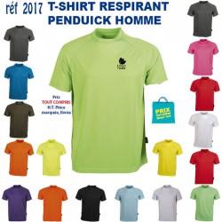 T SHIRT RESPIRANT HOMME REF 2017 2017 T SHIRTS COULEUR 5,20 €