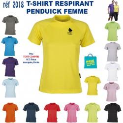 T SHIRT RESPIRANT FEMME REF 2018 2018 T SHIRTS COULEUR 5,20 €
