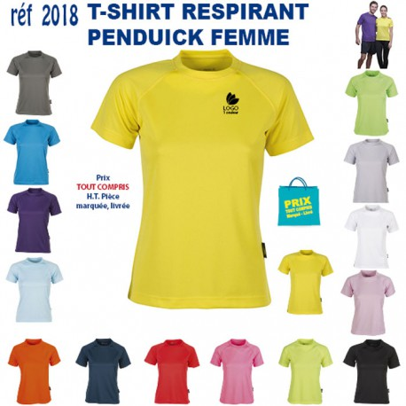 c6cadd3eb0a30 T SHIRT RESPIRANT FEMME REF 2018 2018 T SHIRTS COULEUR T SHIRTS COU...
