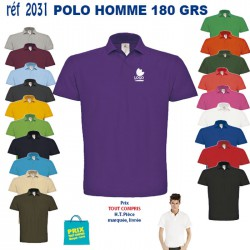 POLO HOMME 180 GRS REF 2031 2031 POLO 6,89 €
