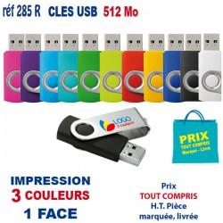 CLES USB REF 285R 512Mo 285R-512MO CLES USB 3,07 €