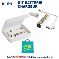 KIT BATTERIE CHARGEUR REF 4149 4149 BATTERIE DE SECOURS - CHARGEUR 7,80 €