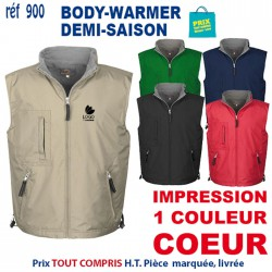 BODY-WARMER DEMI-SAISON REF 900 900 BODY-WARMER 13,39 €