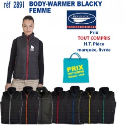 BODY-WARMER BLACKY FEMME REF 2891 2891 BODY-WARMER 19,55 €