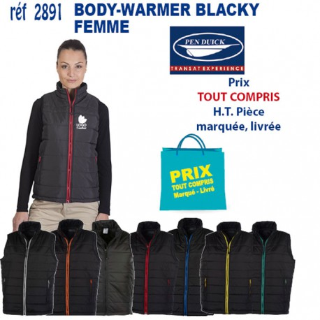 BODY-WARMER BLACKY FEMME REF 2891 2891 BODY-WARMER 19,55 €