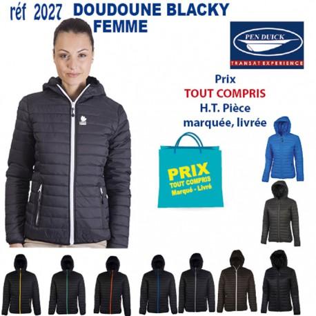 DOUDOUNE BLACKY FEMME REF 2027 2027 DOUDOUNE - PARKA 30,40 €