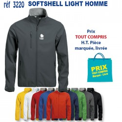 SOFTSHELL LIGHT HOMME REF 3220 3220 SOFTSHELL 23,80 €