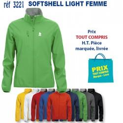 SOFTSHELL LIGHT FEMME REF 3221