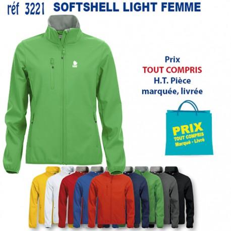SOFTSHELL LIGHT FEMME REF 3221 3221 SOFTSHELL 23,80 €