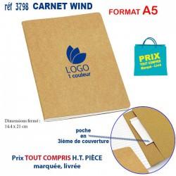 CARNET WIND A5 REF 3798 3798 Carnet 1,77 €