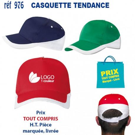 CASQUETTE TENDANCE REF 976 976 CASQUETTES ADULTES 1,59 €