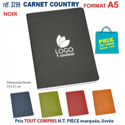 CARNET COUNTRY A5 REF 3799 3799 Carnet 1,80 €