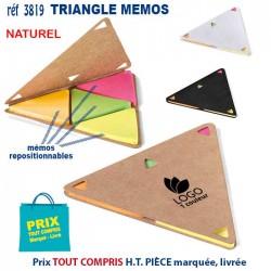 TRIANGLE MEMOS REF 3819