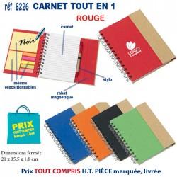 CARNET TOUT EN 1 REF 8226 8226 Carnet 3,62 €