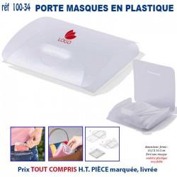 PORTE MASQUES EN PLASTIQUE REF 100-34 100-34 PROTECTION PREVENTION 1,53 €