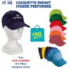 CASQUETTE ENFANT VISIERE PREFORMEE REF 548 548 CASQUETTES ENFANTS 1,24 €