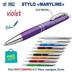 STYLO MARYLINE REF 9962 9962 Stylos plastiques 0,72 €