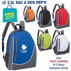 SACS A DOS PEP'S REF 8184 8184 SAC A DOS 3,95 €