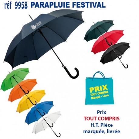 PARAPLUIE FESTIVAL ref 9958 9958 PARAPLUIES MANCHE CANNE 3,52 €