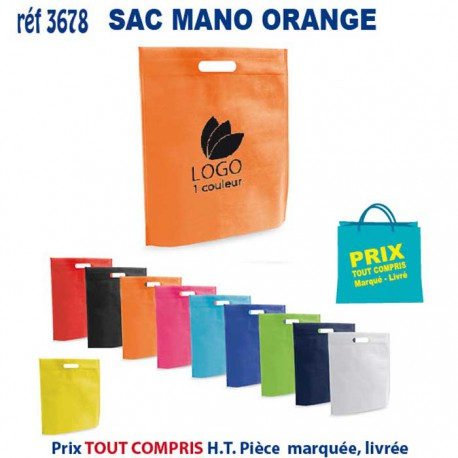 SAC MANO REF 3678 3678 SACS SHOPPING - TOTEBAG 1,48 €