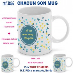 CHACUN SON MUG REF 3866 3866 MUGS GOBELETS 7,15 €