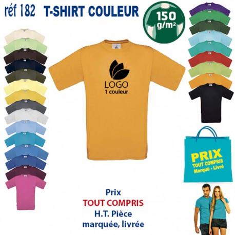 T SHIRT COULEUR 150 GRS REF 182 182 Accueil 3,12 €