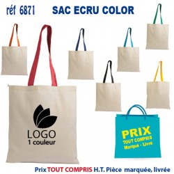 SAC ECRU COLOR REF 6871 6871 SACS SHOPPING - TOTEBAG 1,27 €