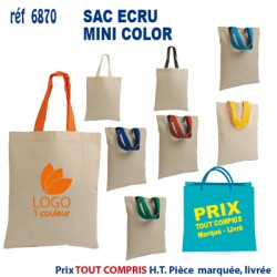 SAC ECRU MINI COLOR REF 6870 6870 SACS SHOPPING - TOTEBAG 1,02 €
