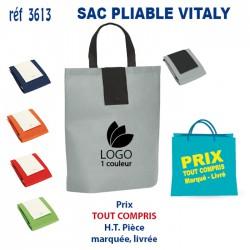SAC PLIABLE VITALY REF 3613 3613 SACS PLIABLES 1,20 €