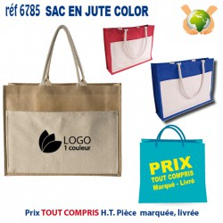 SAC EN JUTE COLOR REF 6785 6785 SACS SHOPPING - TOTEBAG 3,69 €