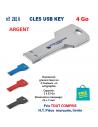 CLES USB REF 285K KEY 4 Go 285 K KEY 4Go CLES USB PUBLICITAIRES  4,51€