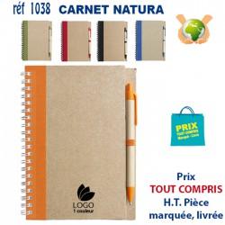 CARNET NATURA REF 1038 1038 Carnet 1,33 €