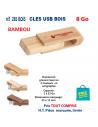 CLES USB REF 285 BOIS 8 Go 285 BOIS 8 Go CLES USB PUBLICITAIRES  4,66€