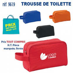 TROUSSE DE TOILETTE REF 9619 9619 TROUSSE DE TOILETTE 1,92 €