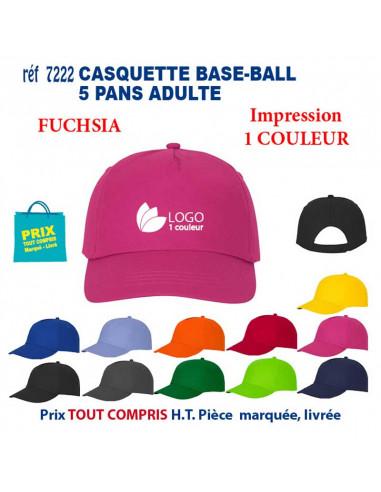 CASQUETTE BASE-BALL ADULTE REF 7222 7222 CASQUETTES ADULTES  3,83€