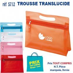 TROUSSE TRANSLUCIDE REF 5712 5712 TROUSSE DE TOILETTE 1,23 €
