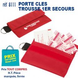 PORTE CLES TROUSSE 1ER SECOURS 8111 KIT 1ER SECOURS 0,77 €