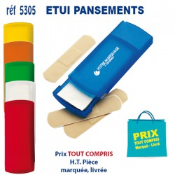 ETUI PANSEMENTS 5305 KIT 1ER SECOURS 0,34 €