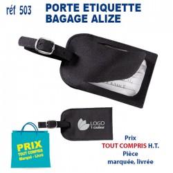 PORTE ETIQUETTE BAGAGE ALIZE 503 POCHETTE - PORTE ETIQUETTE BAGAGE 1,15 €