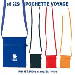 POCHETTE VOYAGE 9829 POCHETTE - PORTE ETIQUETTE BAGAGE 0,70 €