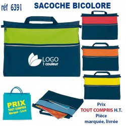 SACOCHE BICOLORE REF 6391 6391 SACOCHES - PORTE DOCUMENTS 2,00 €
