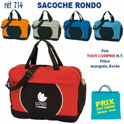 SACOCHE RONDO REF 714 714 SACOCHES - PORTE DOCUMENTS 3,29 €
