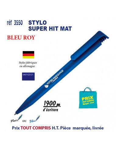 STYLO SUPER HIT MAT REF 3550 3550 Stylos plastiques  0,29€
