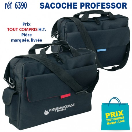 SACOCHE PROFESSOR REF 6390 6390 SACOCHES - PORTE DOCUMENTS 6,33 €