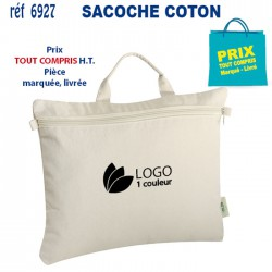 SACOCHE COTON REF 6927 6927 SACOCHES - PORTE DOCUMENTS 2,29 €