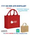 SAC MINI JUTE SCINTILLANT REF 3315 3315 SACS PUBLICITAIRES  4,47€